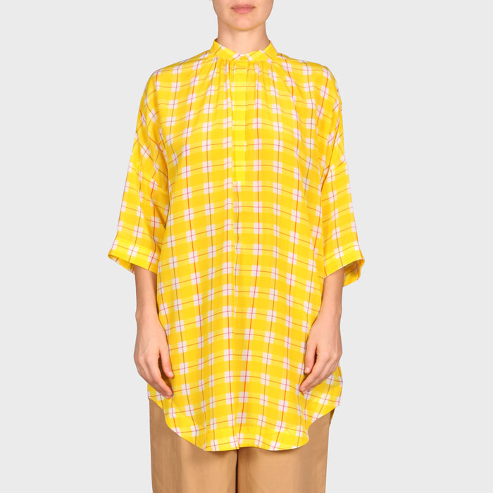 MARTA SHIRT / YELLOW CHECK