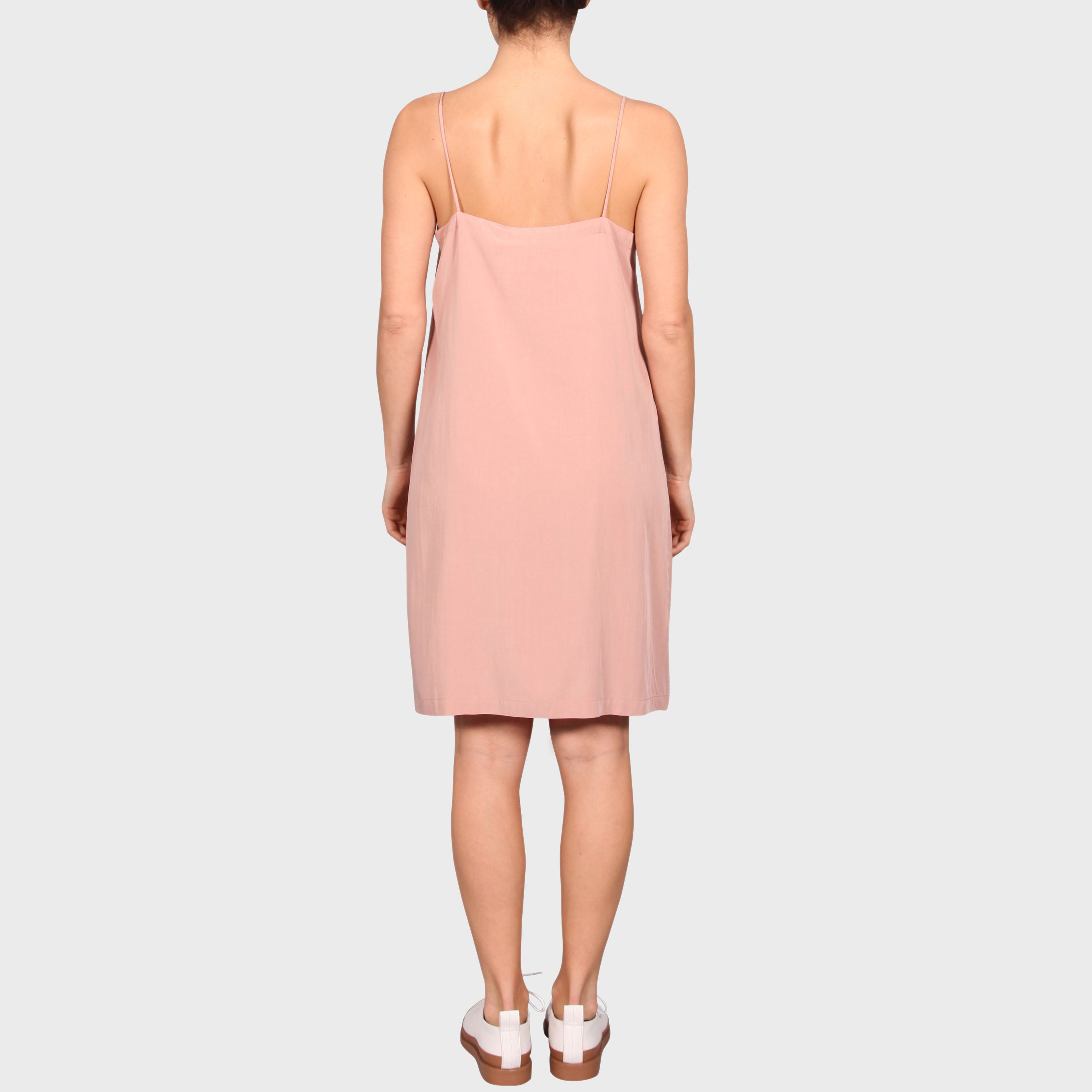 RACHEL SLIP DRESS / BLUSH