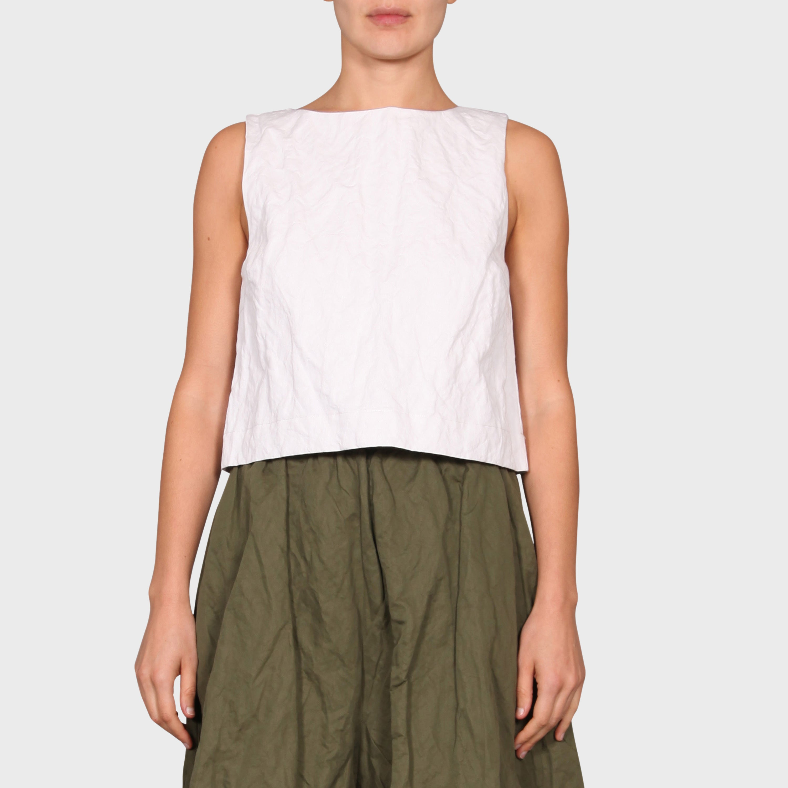 SAM TOP / WHITE