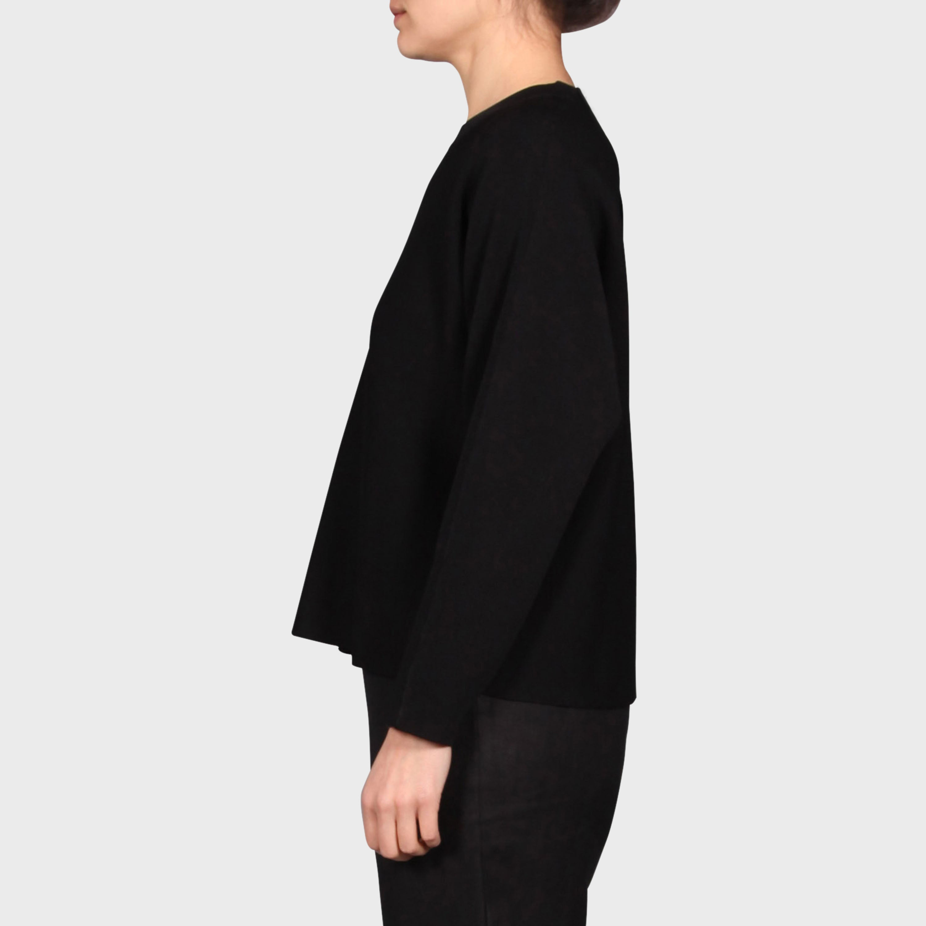 MILA KNIT SWEAT / BLACK