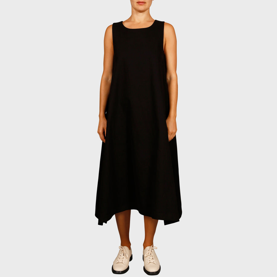 TINA DRESS / BLACK