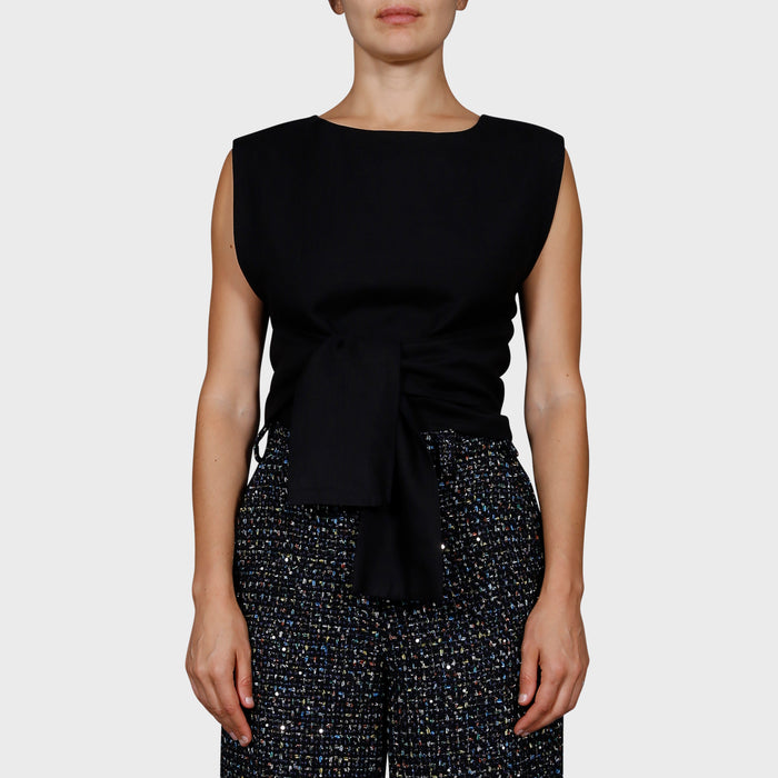 JENNA TOP / BLACK