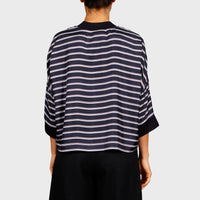 KLEINE TOP / NAVY STRIPE