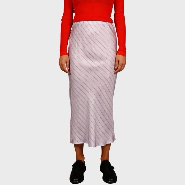 GEORGIA SKIRT / LILAC STRIPE