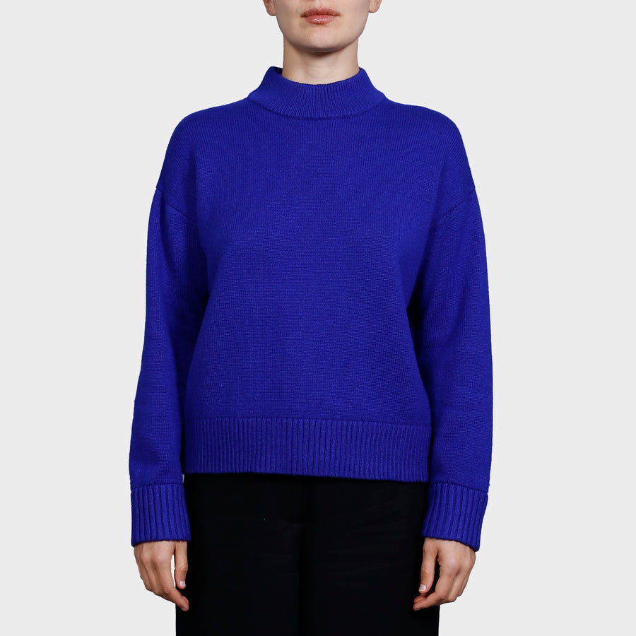DARLA KNIT SWEAT / COBALT