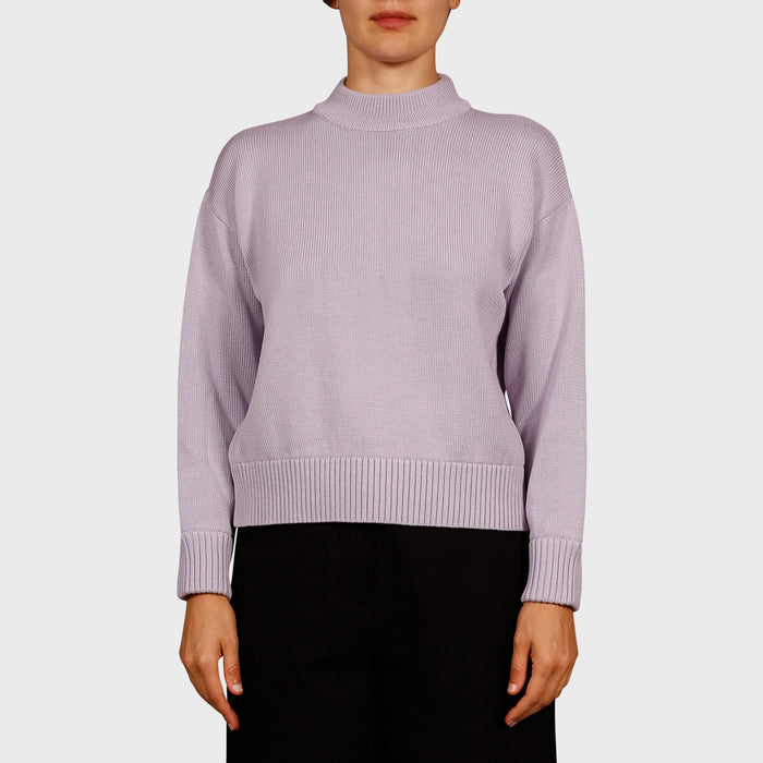 DARLA KNIT SWEAT / LILAC