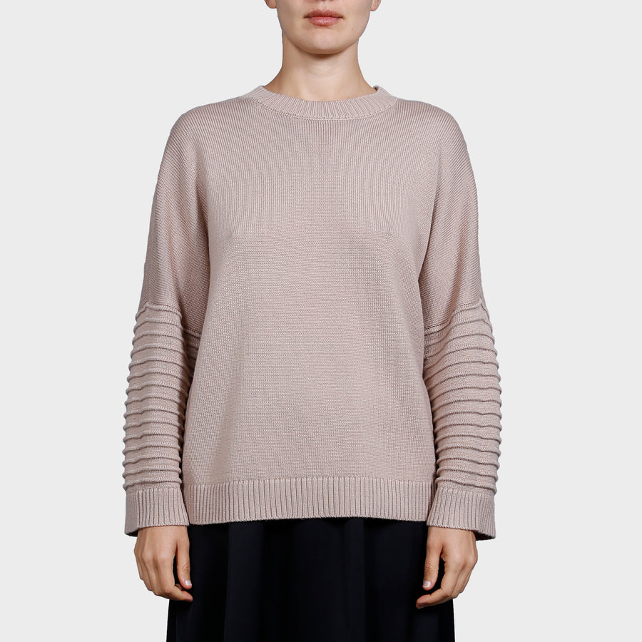 CARMEN KNIT SWEAT / BEIGE