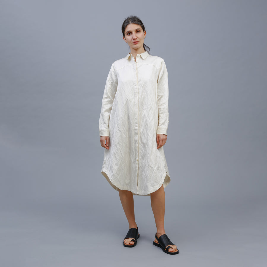 IRIS SHIRT DRESS / CREAM