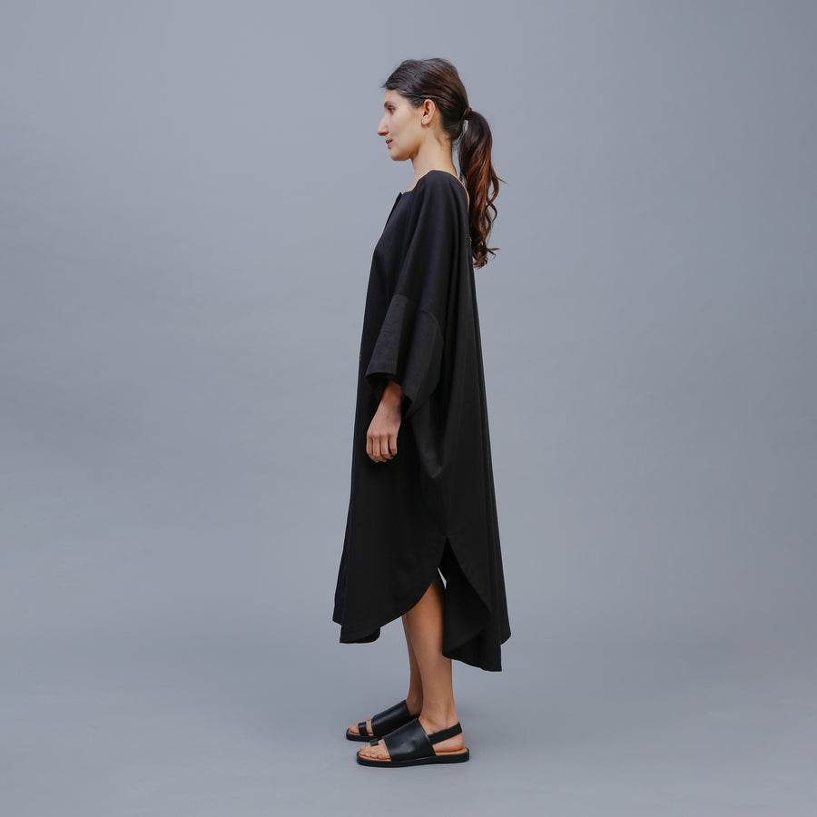 CHELSEY DRESS / BLACK