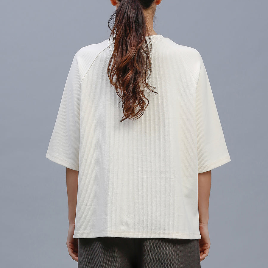 SADIE TEE / CREAM
