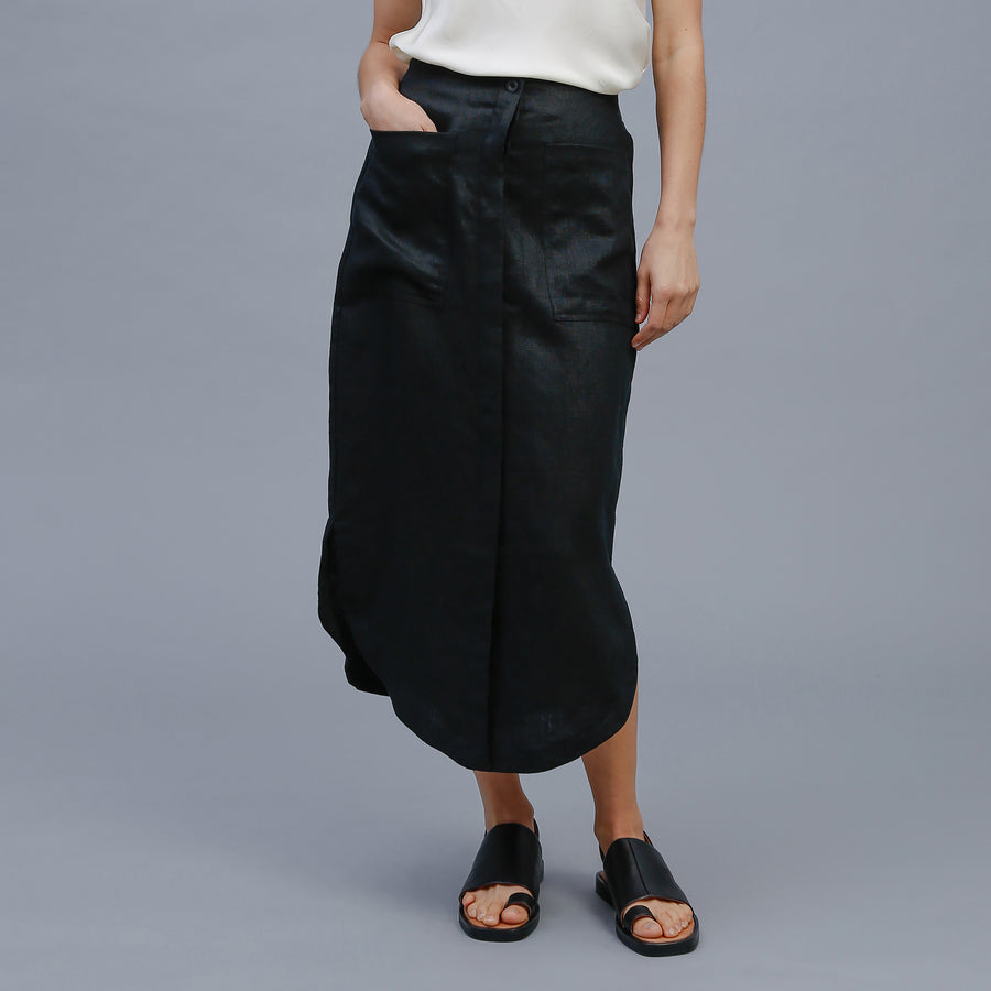WILLOW SKIRT / BLACK