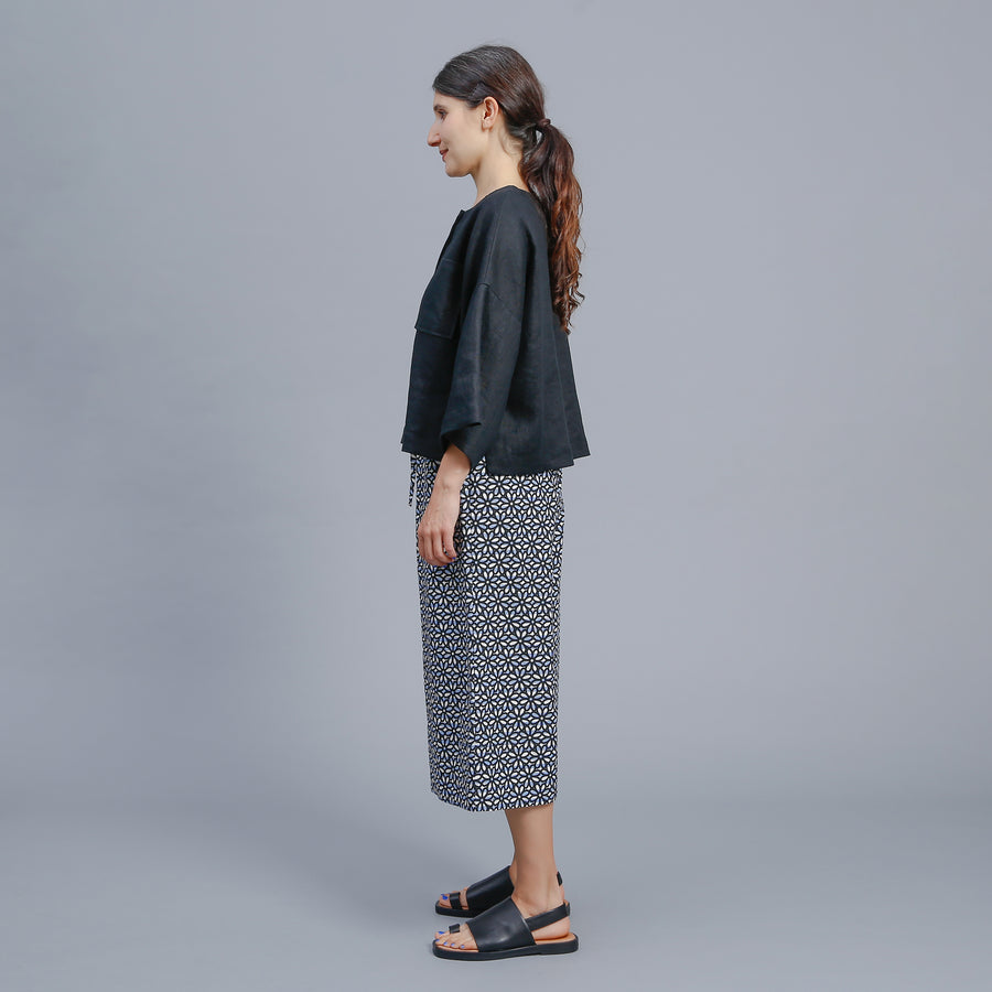 CHASE CULOTTE / BLACK-BLUE-WHITE