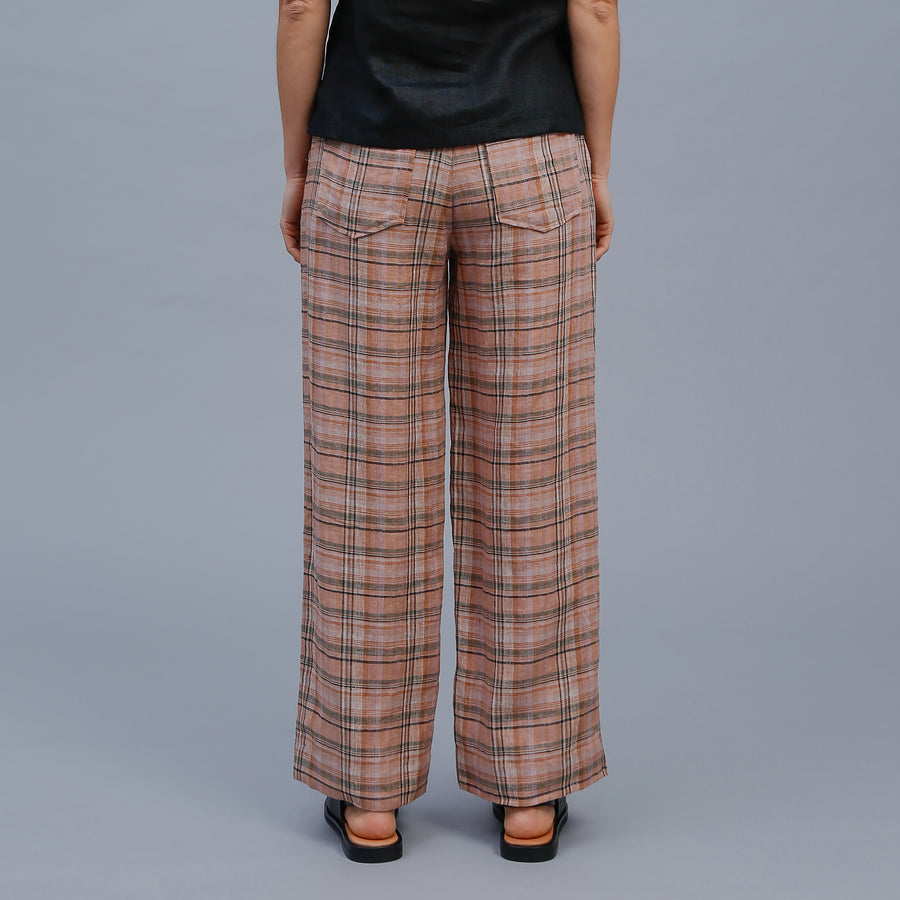 ALLEY PANT / CLAY CHECK