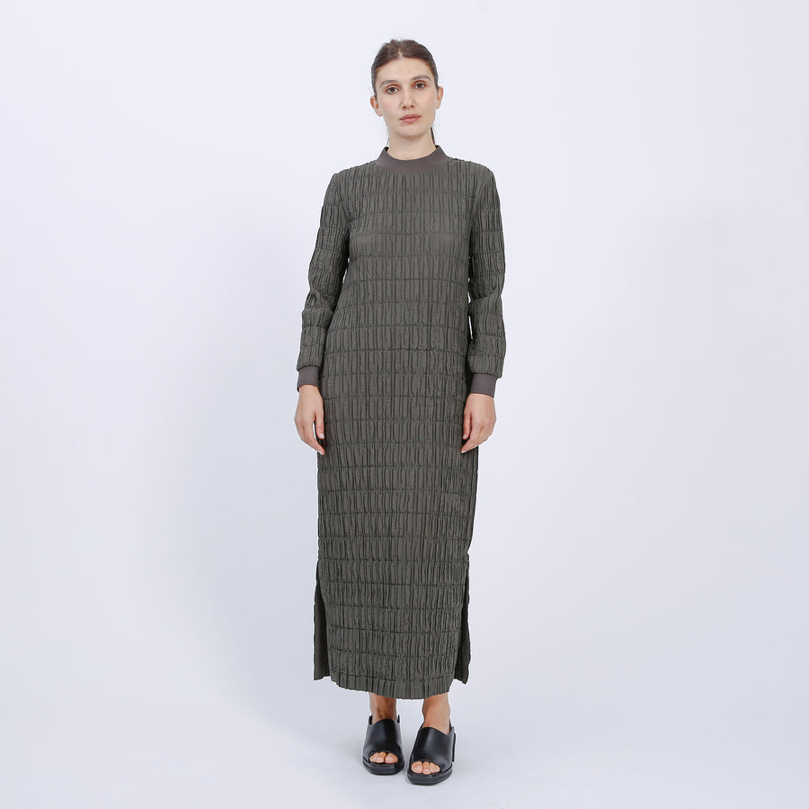 SHARNI DRESS / KHAKI