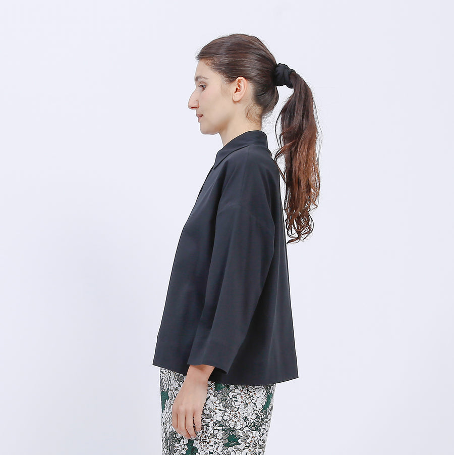 MILA SHIRT / BLACK