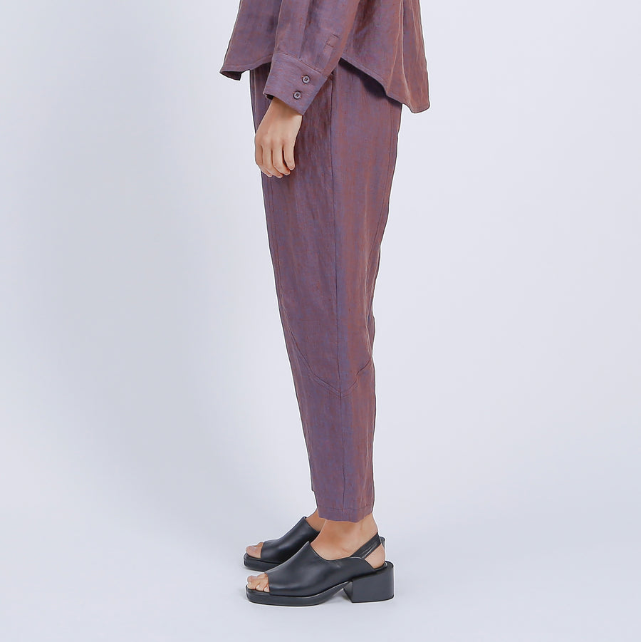 ASHER PANT / BRONZE-BLUE