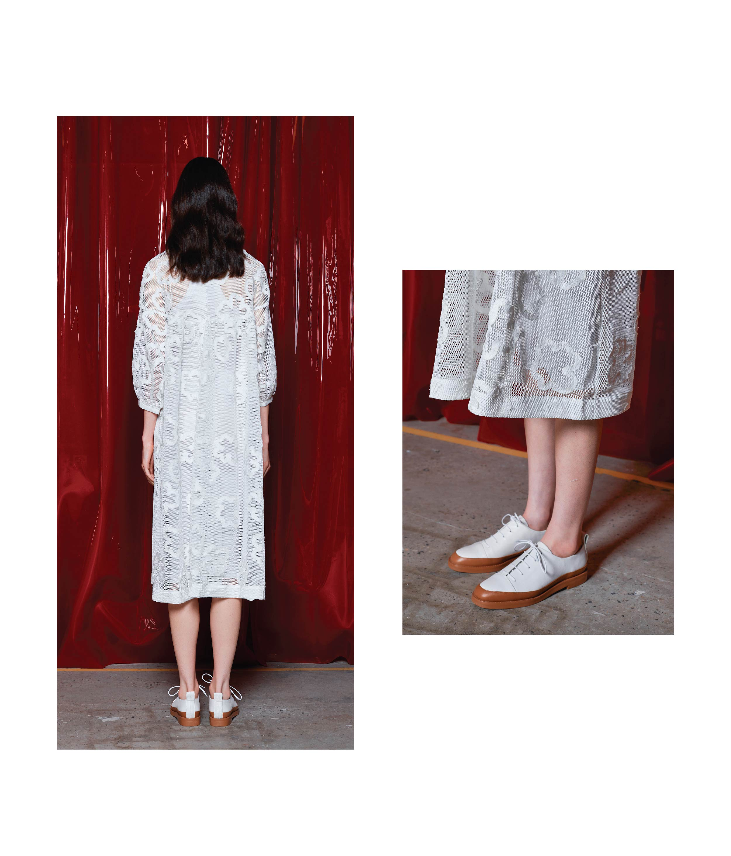 SAL DRESS / WHITE
