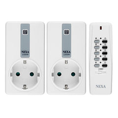Nexa EYCR-2300 X 2/LYCT-705 Wall Plug and Remote Control