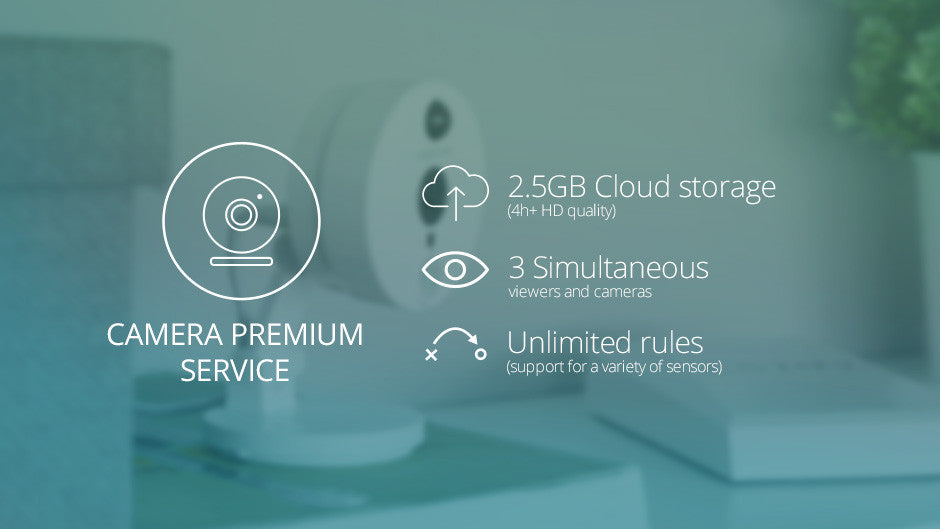 Cozify Camera Premium Service - 12 months subscription