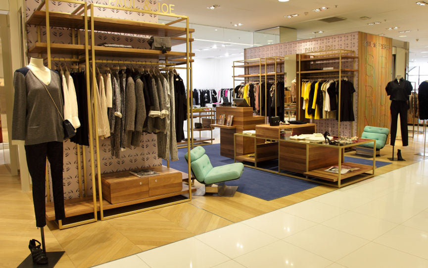 Paul & Joe Turnover a New Leaf in Galeries Lafayette