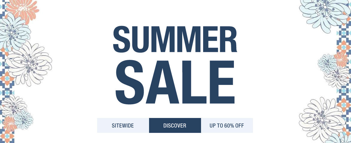 Discover Summer Sales Up To 50% Off Sitewide