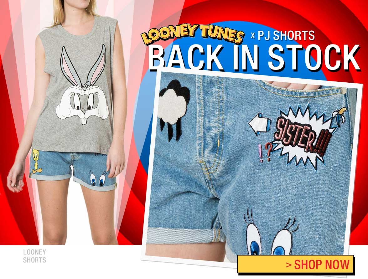 Looney Tunes PJ Shorts - Back in stock