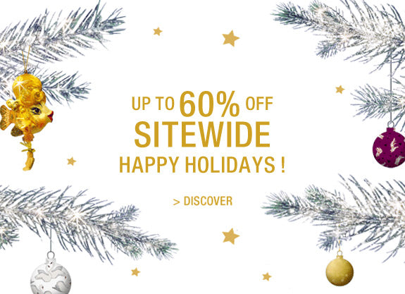 Up to 60% Off Sitewide - Happy Holiday Shopping!