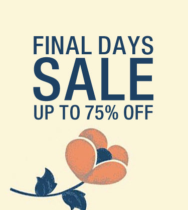 Final Days Sale: Up to 75% Off