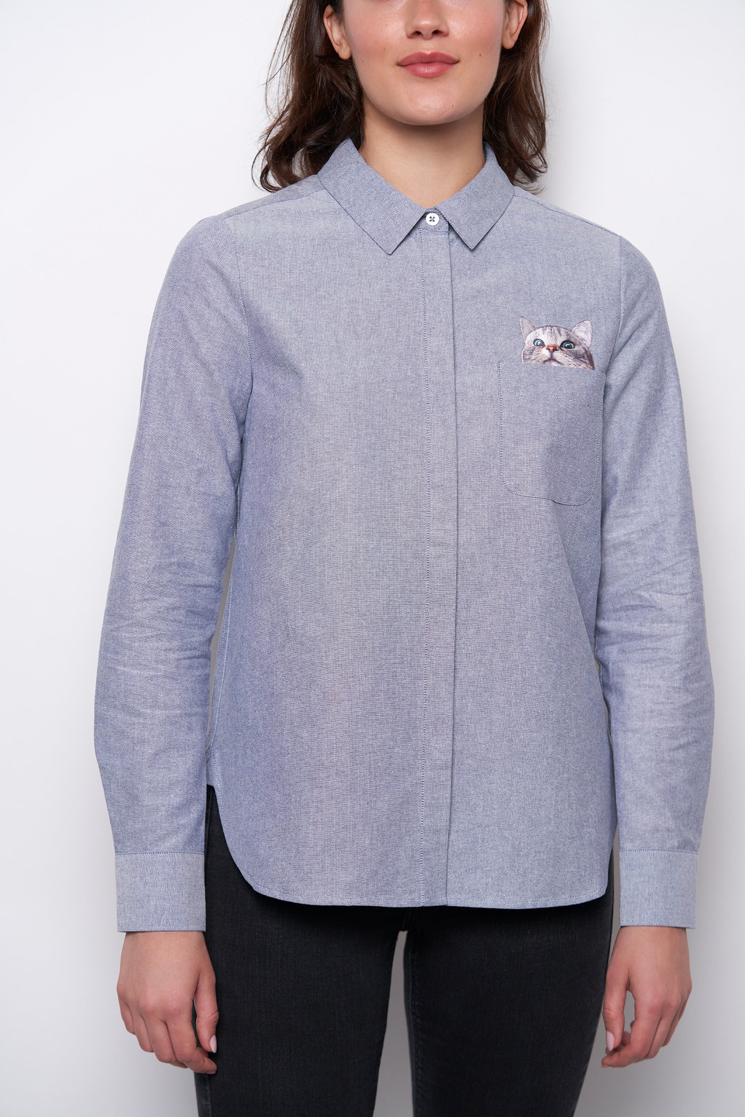 Chaperche Shirt - Blue-1