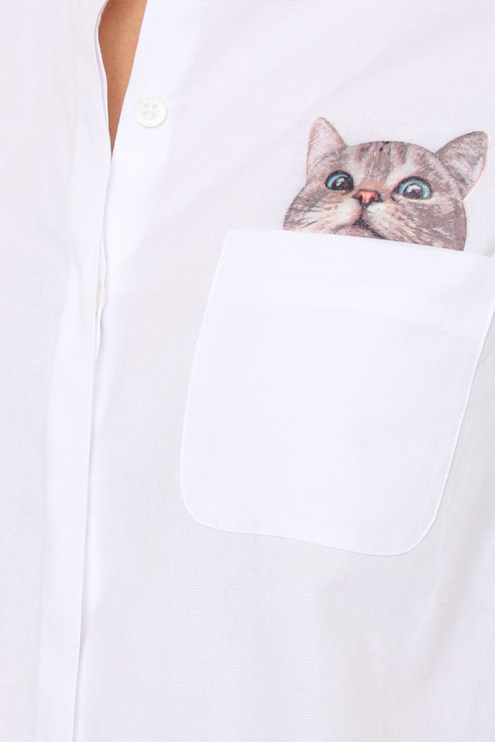 Chaperche Cat Shirt-5