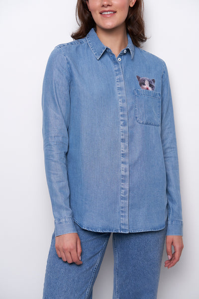 Dana Shirt - Light Blue
