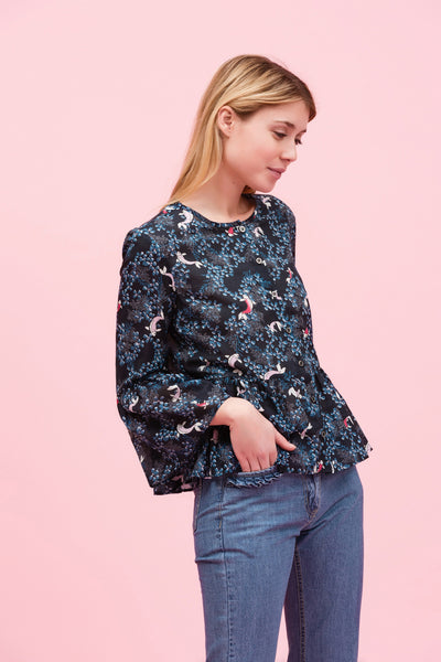 Pony Blouse