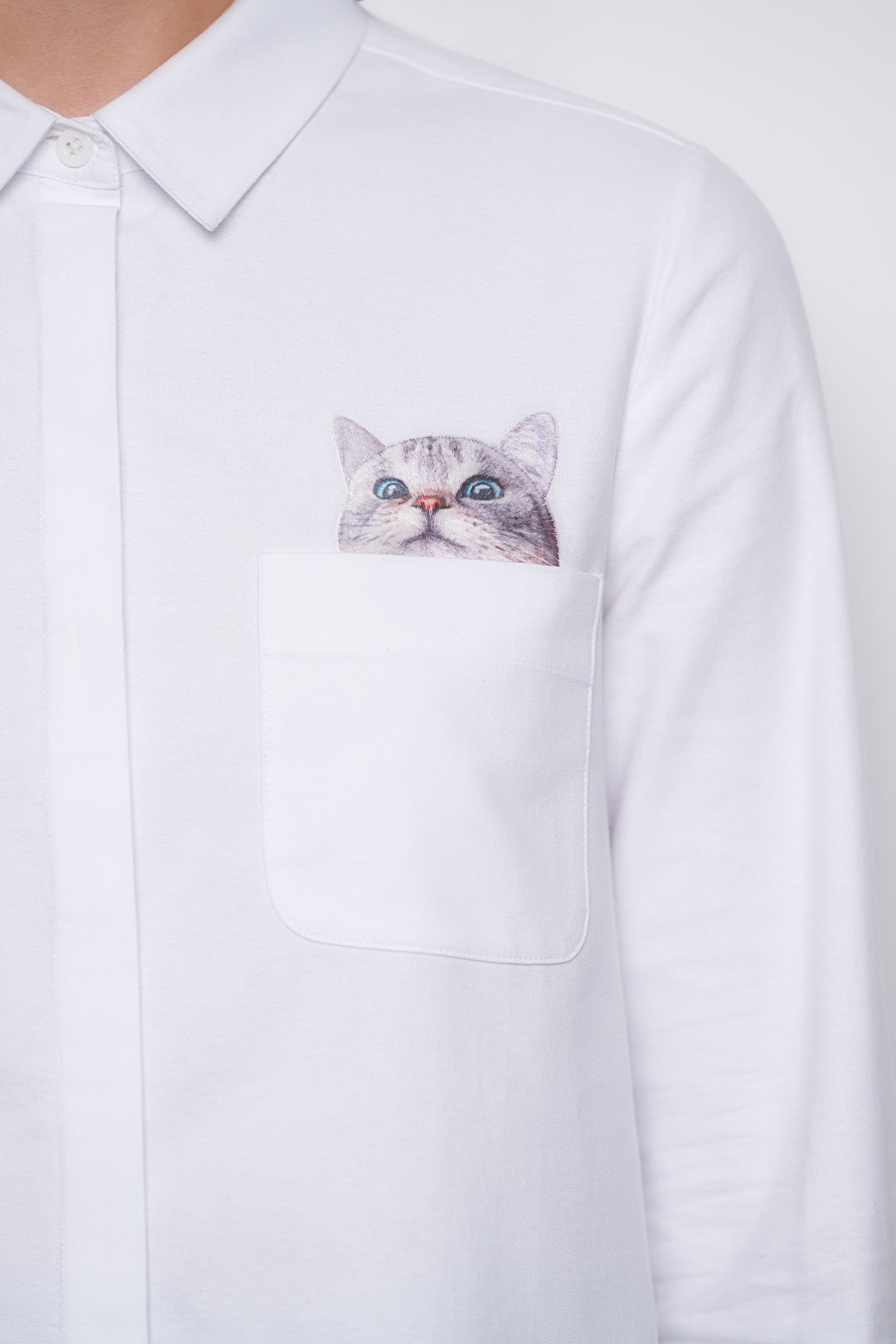 Chaperche Shirt - White-2