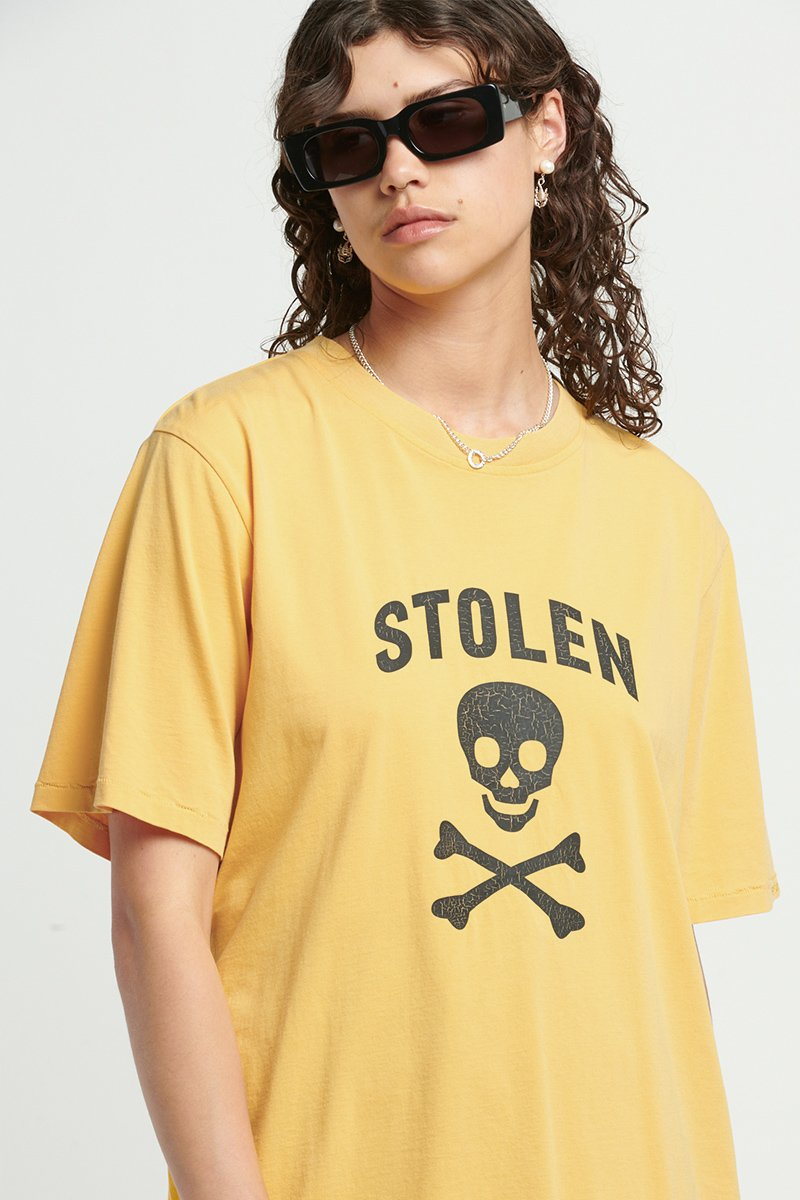 STOLEN JOLLY ROGER GOLD TEE