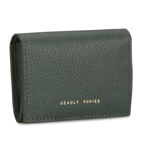 DEADLY PONIES FLIP N SNAP WALLET