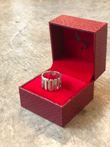 STOLEN BAND RING