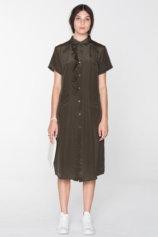 SALASAI GORILLA SHIRT DRESS