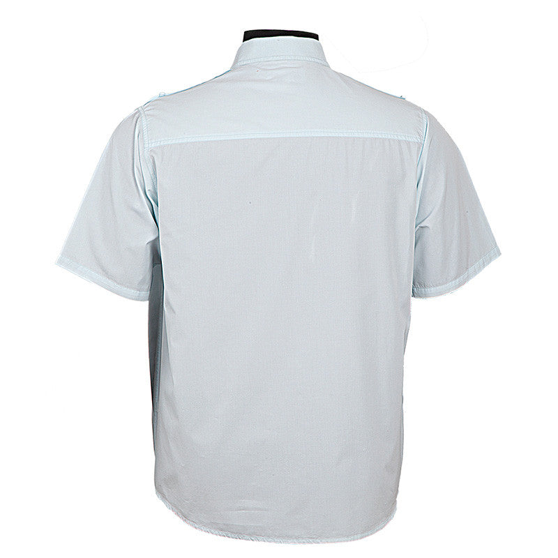 Fabulloso Men's Blue Shirt