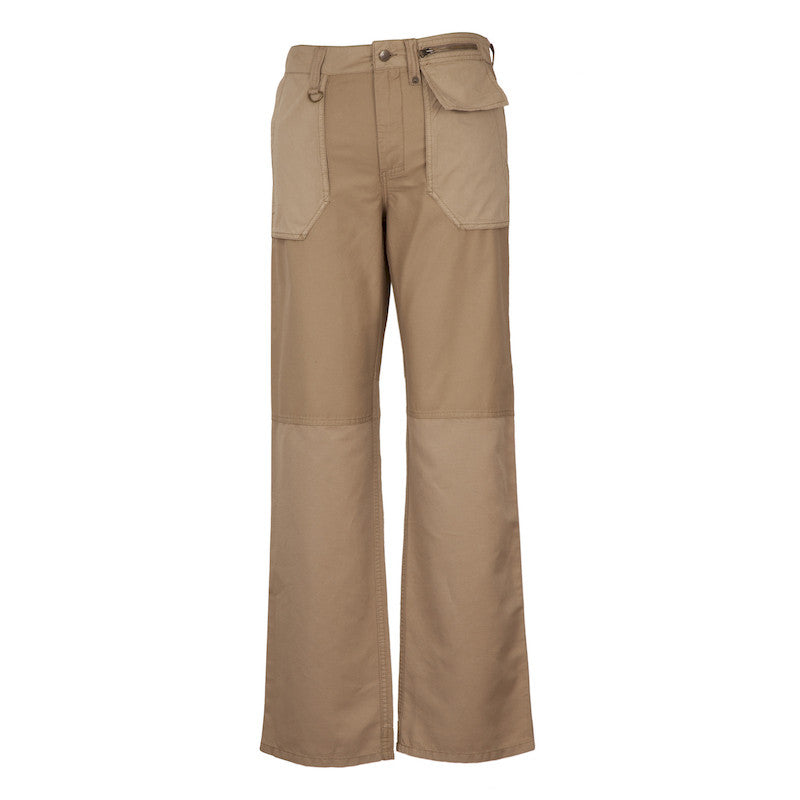 Fabulloso Dual Coloured Cargo Pants Beige