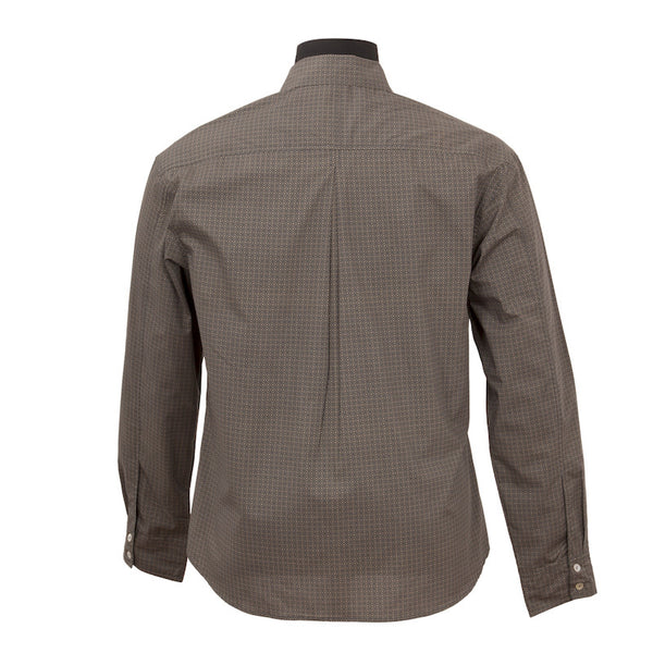 Fabulloso Men's Full Sleeves Slate Shirt