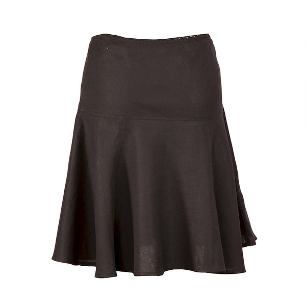 Fabulloso Linen Skirt Black