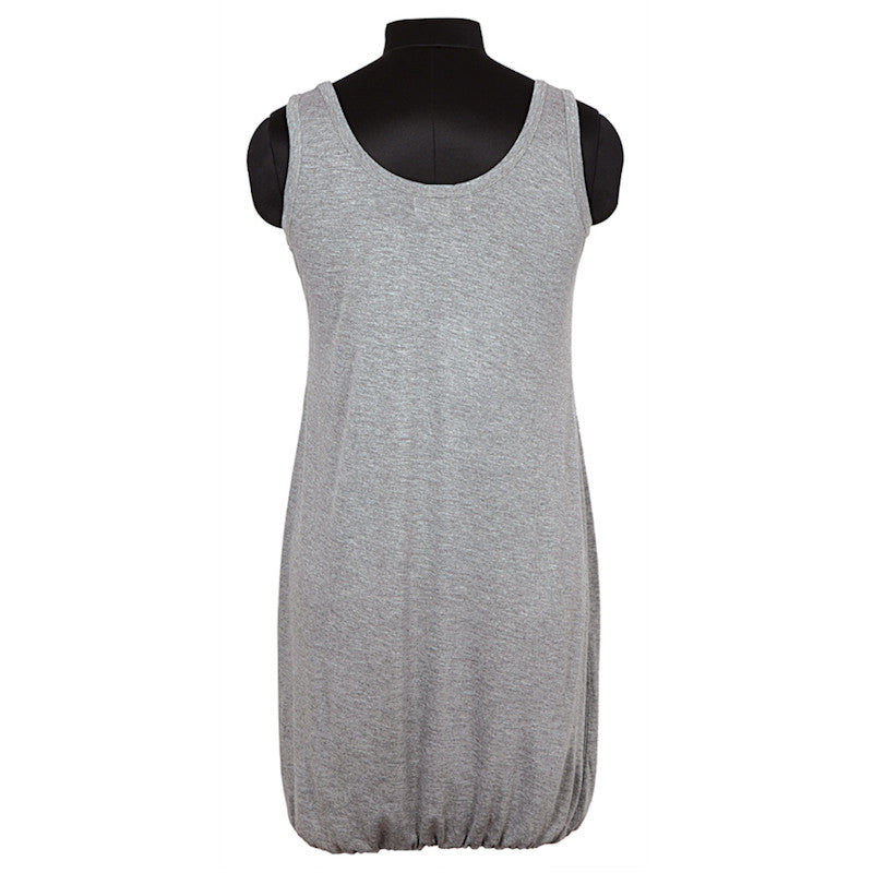 Fabulloso Grey Jersey Dress