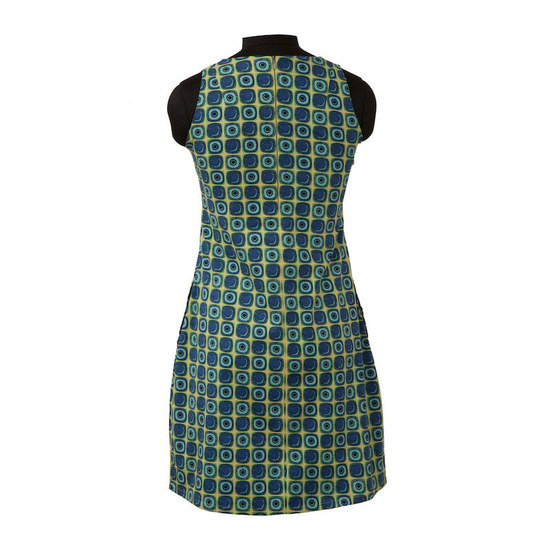 Fabulloso Sleeveless Neon Print Dress