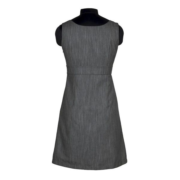 Fabulloso Grey Suiting Fabric Dress