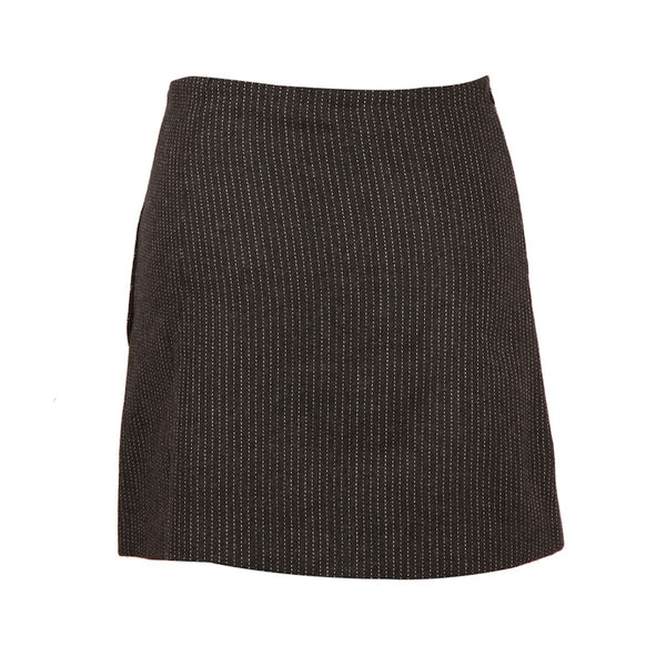Fabulloso Grey Wool Skirt