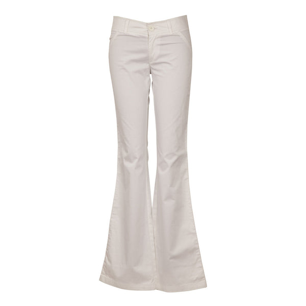 Fabulloso White Boot Cut Pants