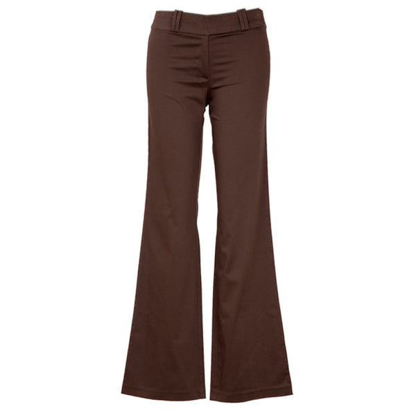 Fabulloso Chocolate Brown Boot Cut Pants
