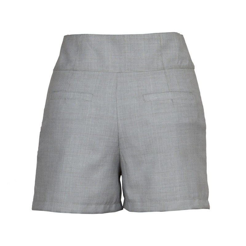 Fabulloso Steel Grey Shorts