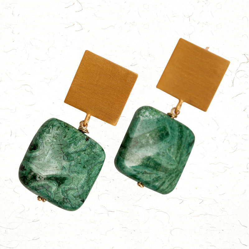 Squared earrings