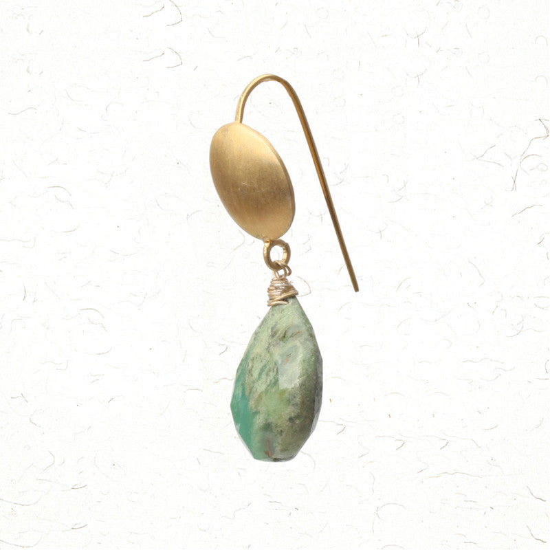 Green revolutions earrings